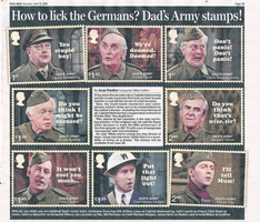 Dad's Army Stamps by CCB-18