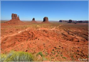 Monument Valley Navajo Tribal Park by KlaraDrielle