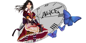 Alice: Madness Returns Sig by ABC-123-DEF-456