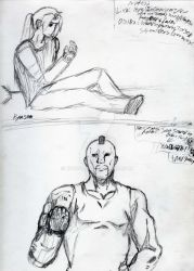 Sketches 4 Art Group by Ryusora