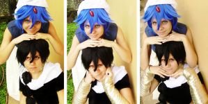 Aladdin and Judal by x-Crys-x