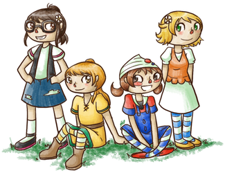 Animal Crossing: The Trainers by RitsuBel