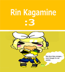 chibi Rin Kagamine by s17adhop