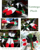 Yanmega Pokedoll by Fox7XD