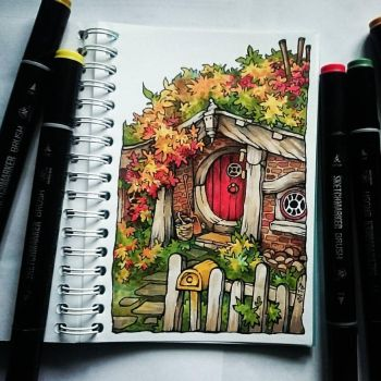 Instaart - Autumn in the Shire by Candra