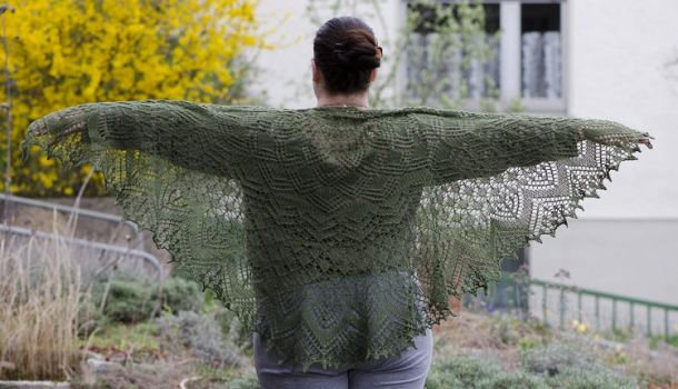 Vernal Equinox Shawl by Fortresca