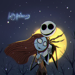 The Nightmare Before Christmas | Happy Anniversary by Atlas-White