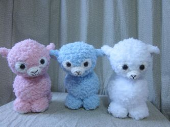 Amigurumi Lambies by Oni4219