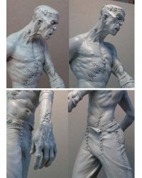 Frankenstein close ups by MarkNewman