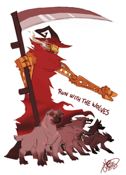 CBNS: Run With The Wolves by 123soleil