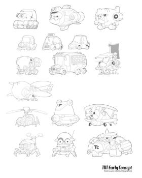 TNT Vehicles by metalkid