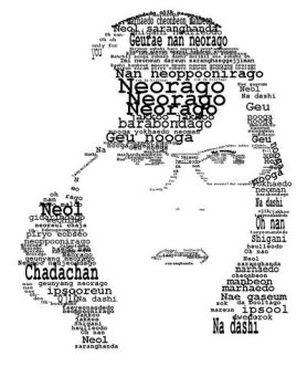 Me in typographic by manurubi