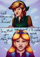 Well excuuuuse me, Princess! by Jasmineteax