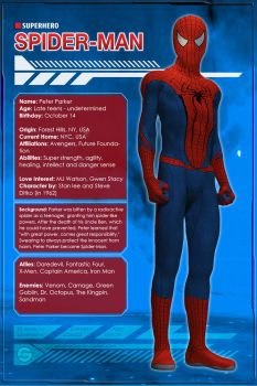 Spider-Man (Character Profile) by Sandmarine