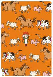 1, 2, 3 - Animal cards, back by JoanGuardiet
