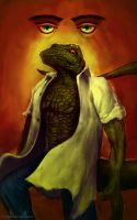 LIZARD - DR. CONNORS by zero-scarecrow13