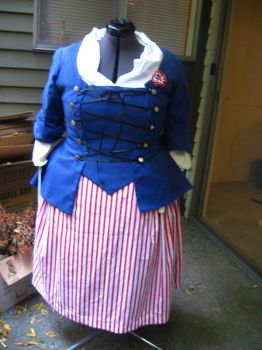 French Revolutionary Costume by cigarettes214