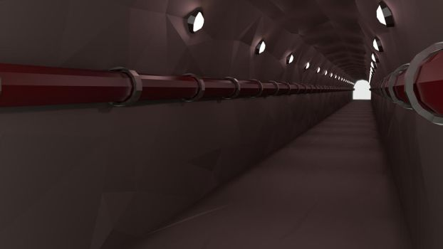 Empty Tunnel by Vimbridale