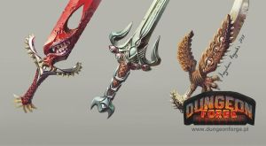 Funky Swords by AugustinasRaginskis