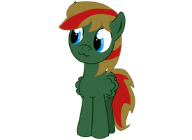 OC pony Verdant. Look at that. by Tassadoul