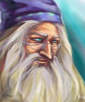 Harry Potter ~Albus Dumbledore by zarin-a