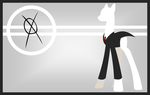 Slender-Pony Wallpaper by Zacatron94