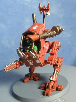 Painted Ork Killa Kan by Scammeleon