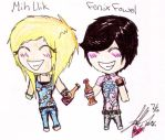 Mih llik And Fenix Fowel sodaa by UrEmoLover