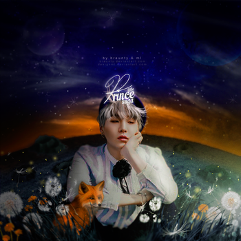 Suga from BTS / Little Prince by designML