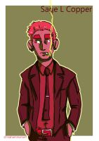Following Ghost Steps - Sage in a Suit by MahAmmar