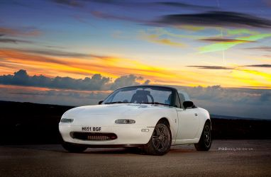 Sunset Eunos by PGDsx