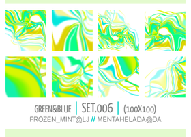 006. green-and-blue textures by mentahelada