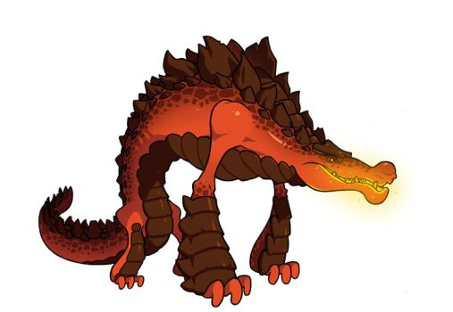 Lava Croc by Lysol-Jones