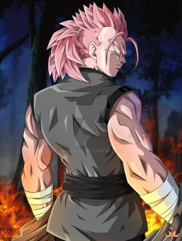 OC : Jzuyou Super Saiyan Rose