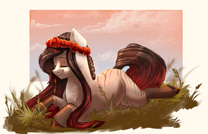 This grass is so fluffy! by Segraece