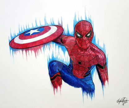 Spider-Man (Captain America Civil War) by OMKDrawings