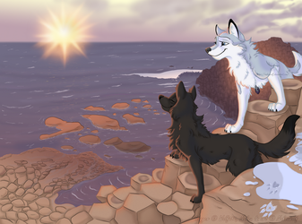 [Art Trade] Bridge to a Mysterious Path by Nakouwolf