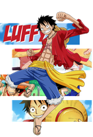 One Piece - Luffy by Luffy-ThePirateKing