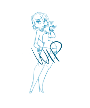 Betty Boop WIP by HoveringAbout