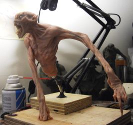sculpey demon WIP by BOULARIS