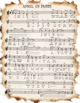 Sheet Music Burned by markopolio-stock