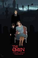The Omen in MS PAINT by CaptainRedblood