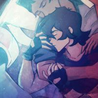sleepy klance by EnotRobin