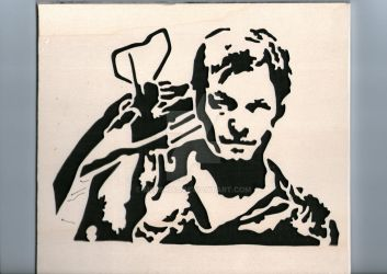 Daryl in Wood by Melski83