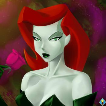Poison Ivy by SuperSaiyan3Scooby