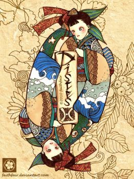 Japanese Pisces by faithfair