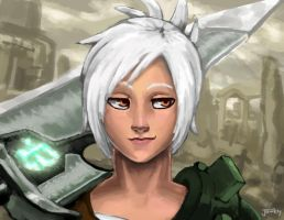 Riven the Exile by Jawkly