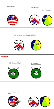 CountryBalls Comic 6- USA Discovers Alien Life by befree2209