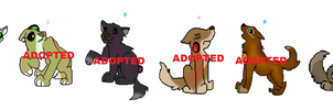 Luriwolf pup free adopts (CLOSED!) by WolfHeart1523