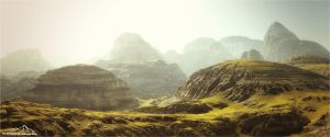 Highlands by 3DLandscapeArtist